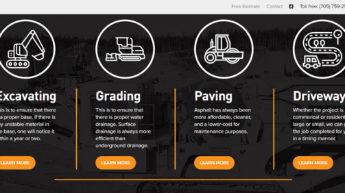 Paving website